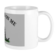 Dont Tread On Me - Grey Mug
