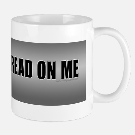 Grey Dont Tread On Me Mug