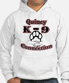 Quincy K-9 Connection Logo Hoodie