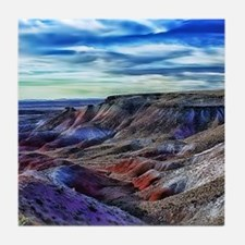 painted desert Tile Coaster