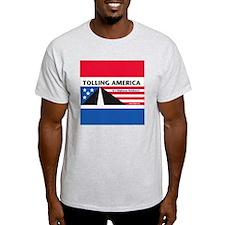 SF_TollAmericaBlue_Throw11x11_052512 T-Shirt