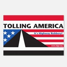 SF_TollAmericaBlack_Magne Postcards (Package of 8)