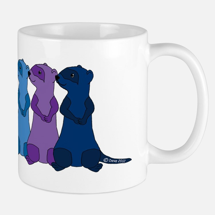 Rainbow Ferrets 2 Mug