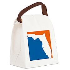 Florida Colors (Gators) Canvas Lunch Bag