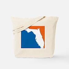 Florida Colors (Gators) Tote Bag