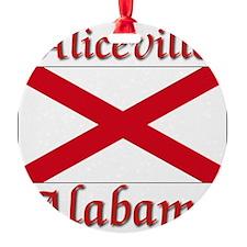 Aliceville Alabama Ornament