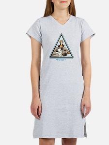 Adopt Animals Women's Nightshirt