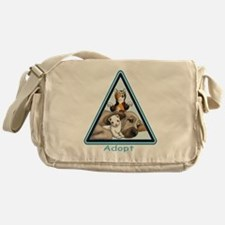 Adopt Animals Messenger Bag