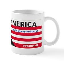 tolling america bumper sticker Mug