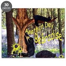 Black Bear in Baradise Puzzle