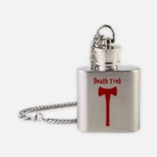 Death Trek Axe No Background Flask Necklace