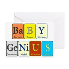 Baby Genius Greeting Card