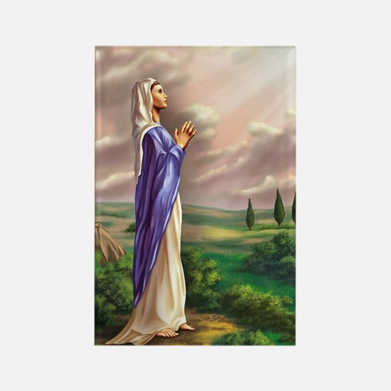blessed virgin Mary Rectangle Magnet