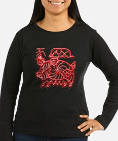 Unique Chinese year of the pig T-Shirt