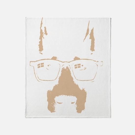 dobe-glasses-DKT Throw Blanket