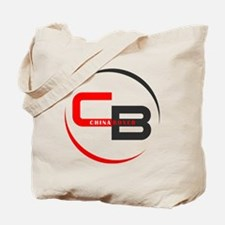 CB logo on white Tote Bag