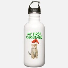 My First Christmas Water Bottle