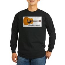 ready for jammin acoustic guitar T