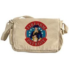 FirearmPatriot Logo Messenger Bag