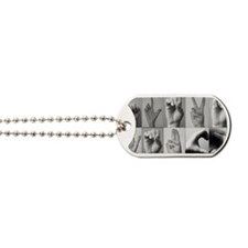 Hands Again Dog Tags