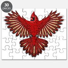 Beadwork Cardinal Puzzle