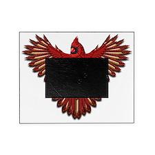 Beadwork Cardinal Picture Frame