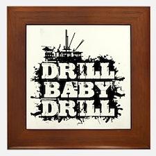 DrillBabyDrill Framed Tile