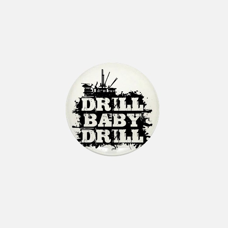 DrillBabyDrill Mini Button