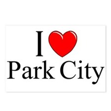 """""""I Love Park City"""" Postcards (Package of 8)"""