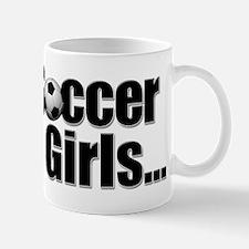 soccer girls Mug