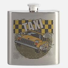 TAXI-LIGHT-TEE-DESIGN Flask