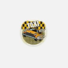 TAXI-TEE-DARK-TEE-DESIGN Mini Button
