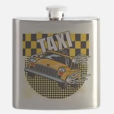TAXI-TEE-DARK-TEE-DESIGN Flask
