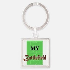 My Battlefield Square Keychain