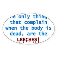 Leeches Decal