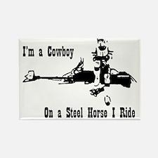 Cowboy Scout Trooper Rectangle Magnet