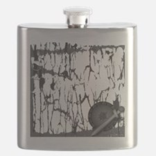 Lung Cancer Warrior Flask