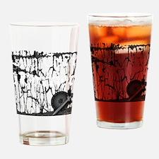 Lung Cancer Warrior Drinking Glass