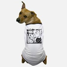 Lung Cancer Warrior Dog T-Shirt