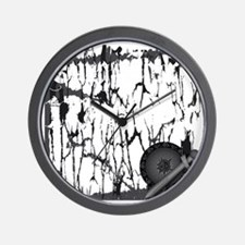 Lung Cancer Warrior Wall Clock