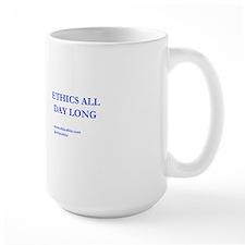 Blue Ethics All Day Long Mug