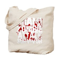 Miami Zombie Attack Survivor Tote Bag