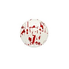 Miami Zombie Attack Survivor Mini Button