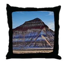 painted desert-4 Throw Pillow