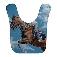 Horse Jumper in the Clouds Bib