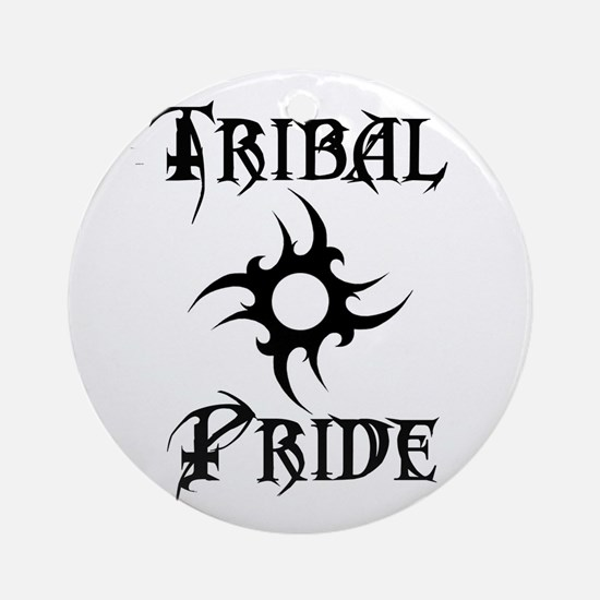 TribalPride Round Ornament