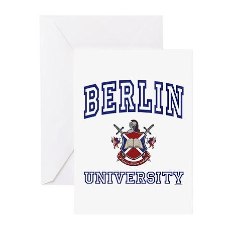 BERLIN University Greeting Cards (Pk of 10)
