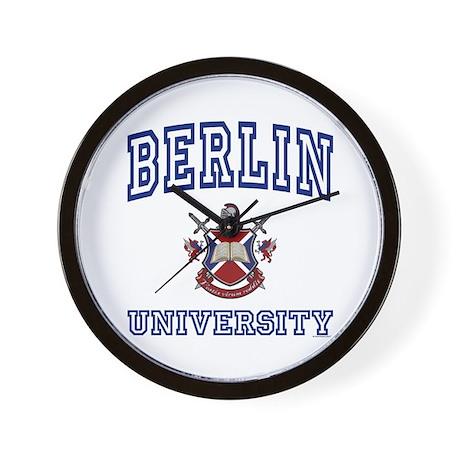 BERLIN University Wall Clock