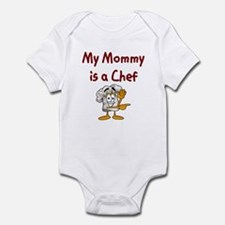 My Mommy Is A Chef Infant Bodysuit