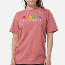 Rainbow Badminton T-Shirt